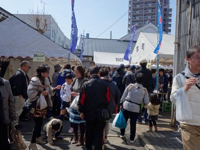 大賀酒造 2015年 春の酒蔵開き様子1