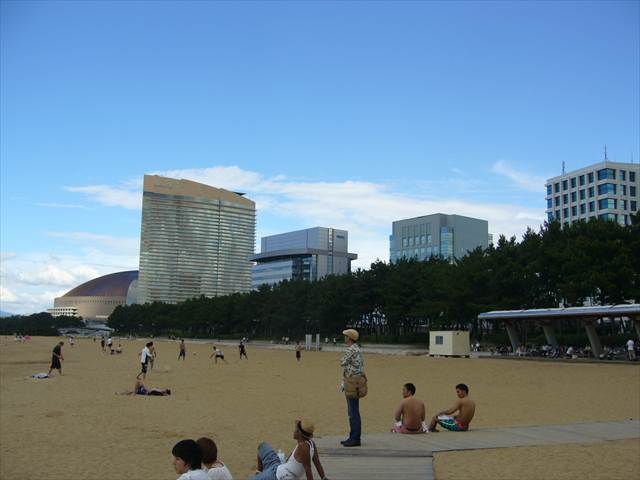 福岡市海浜公園(百道浜)15