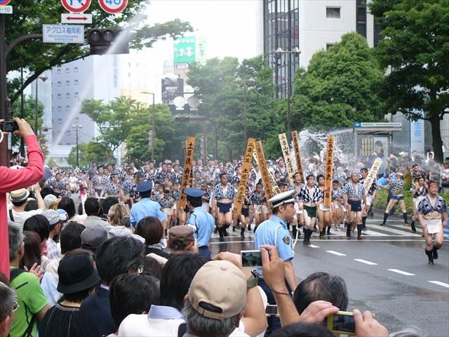 博多祇園山笠2013集団山見せ7