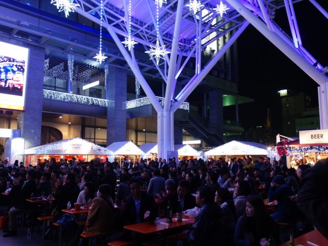 クリスマスマーケット in 光の街・博多-イートイン1
