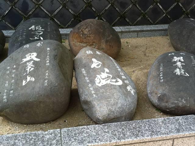櫛田神社力石