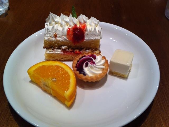 ザ・グローバルブッフェ クーリア食事9