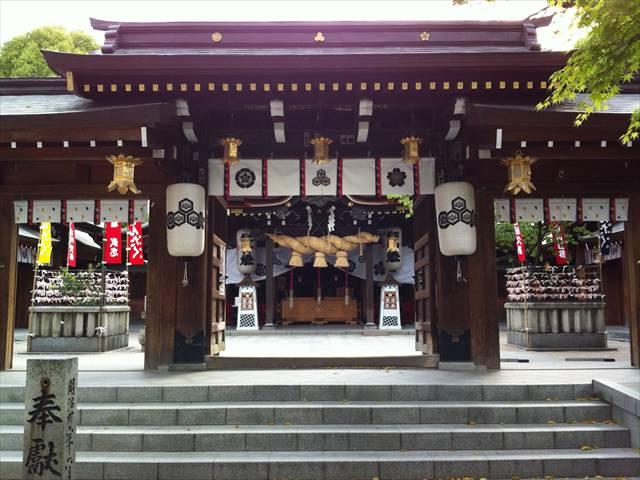 櫛田神社中神門