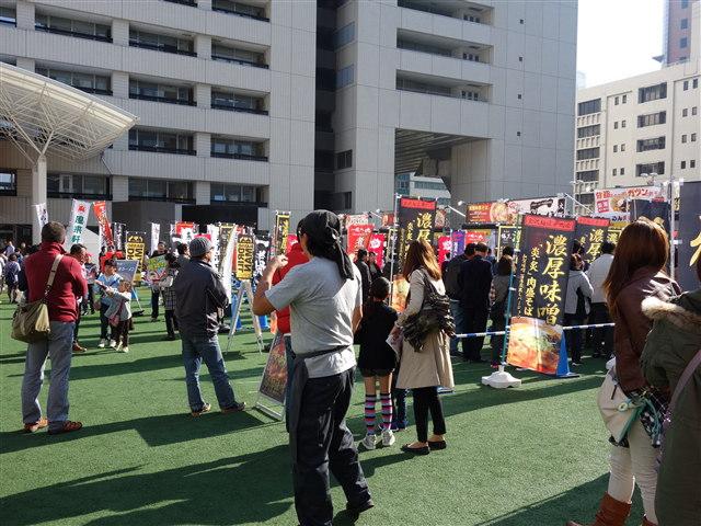福岡ラーメンショー2014(第一幕)様子7