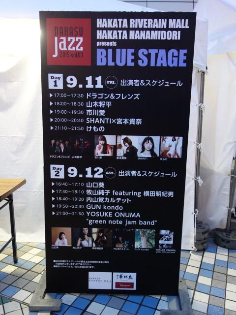 BLUEステージ1