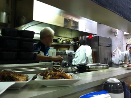 お食事処 福魚食堂(真鯛の揚げ煮定食)2
