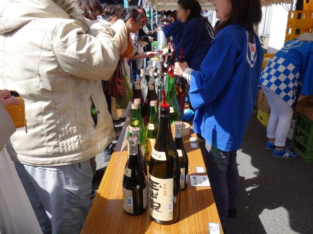 大賀酒造 2015年 春の酒蔵開き試飲7
