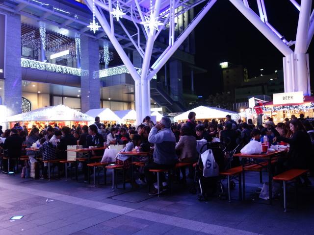 クリスマスマーケット in 光の街・博多-イートイン2