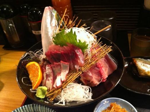 市場食堂 博多 魚がし(ヤズ姿造り)7