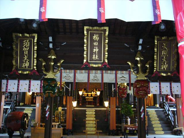 櫛田神社御祭神